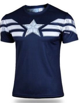 CLEARANCE: Captain America Navy Blue t-shirt