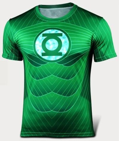 CLEARANCE: Green Lantern Green t-shirt