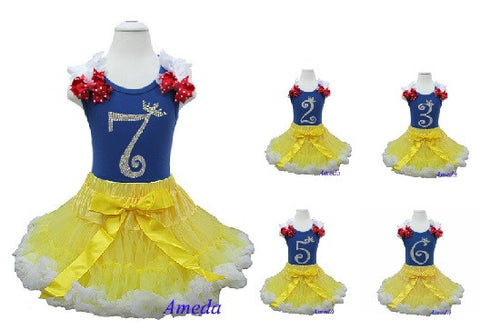 No. 1 to 7 Fancy Birthday Dress