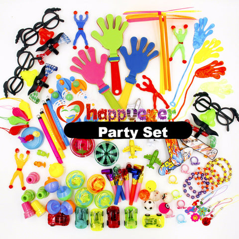 100 PCS Assorted Toys for Party Favor Bags