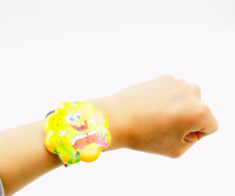 12 PCS Assorted Cartoon Slap Bracelets