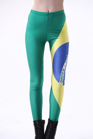 World Cup Flag Design Leggings