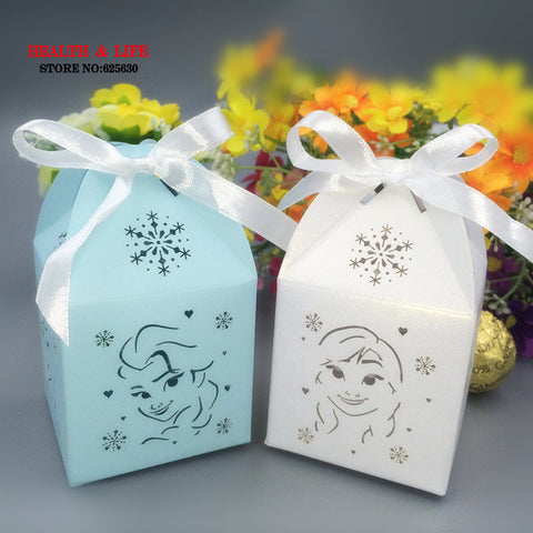Princess Elsa 10 PCS Birthday Party Candy Box