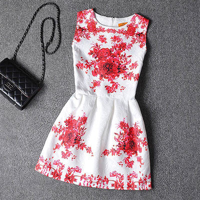 Mother Daughter Sleeveless Elegant Summer Dresses