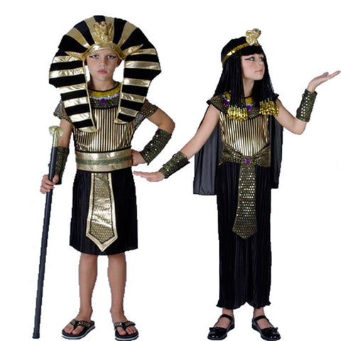 Egyptian Pharaoh Costume (Kids or Adults)