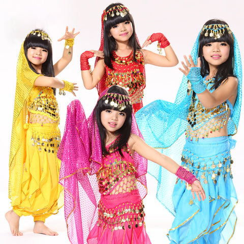 Belly Dance Children Indian Costume