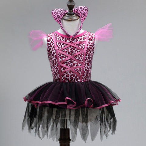 Cat Girl Costume Dress