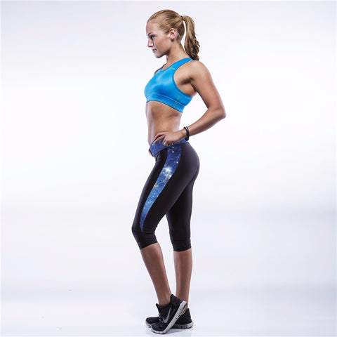 Sporty Fitness Compression Trousers