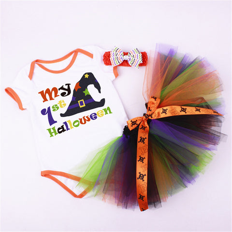 Halloween Tutu Princess Dress