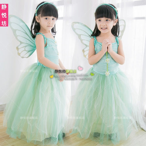 Princess with Wings Girls Costume