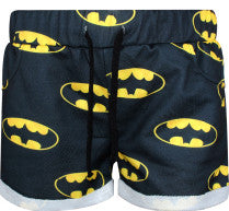 Women Batman Fitness Sports Stretch Shorts for Training, Running, Gym