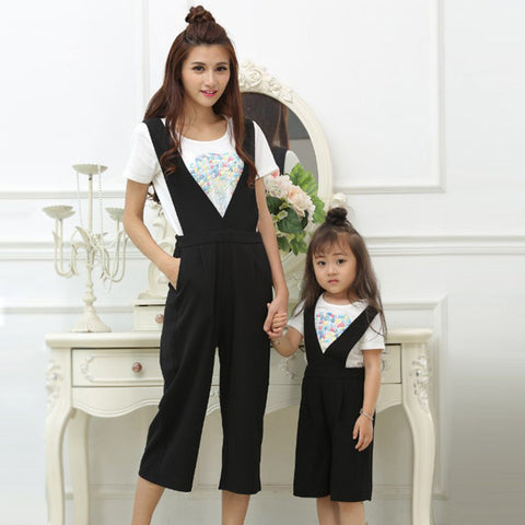 Mother Daughter Two Piece Jumpsuit