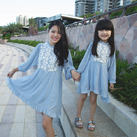 Autumn Mother Daughter Dresses