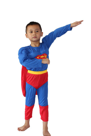 Superman Muscle Boys Costume (3 to 8 years)