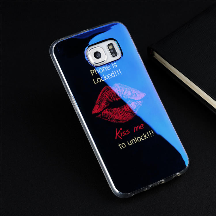 Soft TPU protection cover for Samsung Galaxy S6 Edge