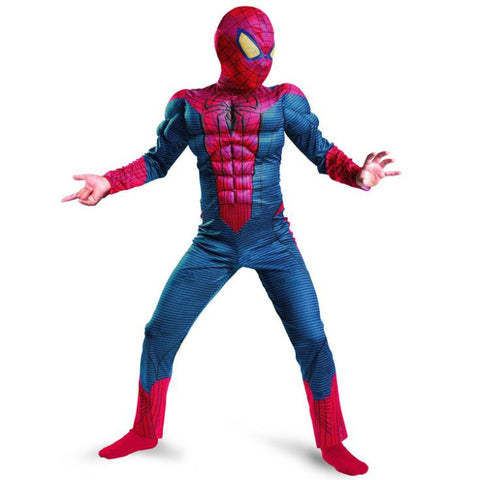 The Amazing Spiderman Muscle Child Costume