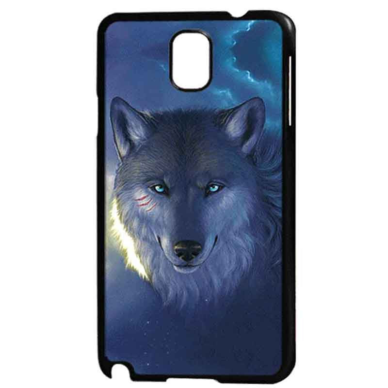 3D Effect Wolf Case for Samsung Galaxy Note 3 N9000