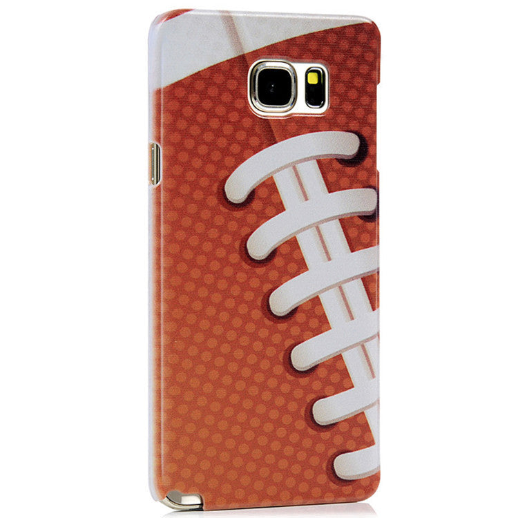 Rugby Cute Colored Ultra Thin Protective Hard Cover For Samsung Galaxy Note 5