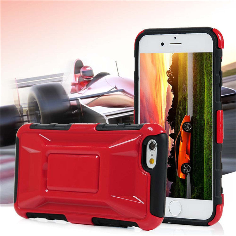 Rugged Rubber Armor Case For iPhone 6 Plus 5.5inch