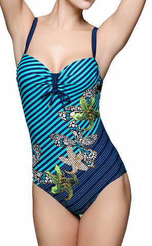 Plus Size One Piece Swimsuit (L-7XL)