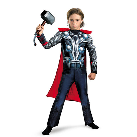 Thor Muscle Child boys Halloween Costume