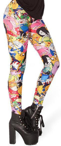 Cool Digital Print Legging Pants