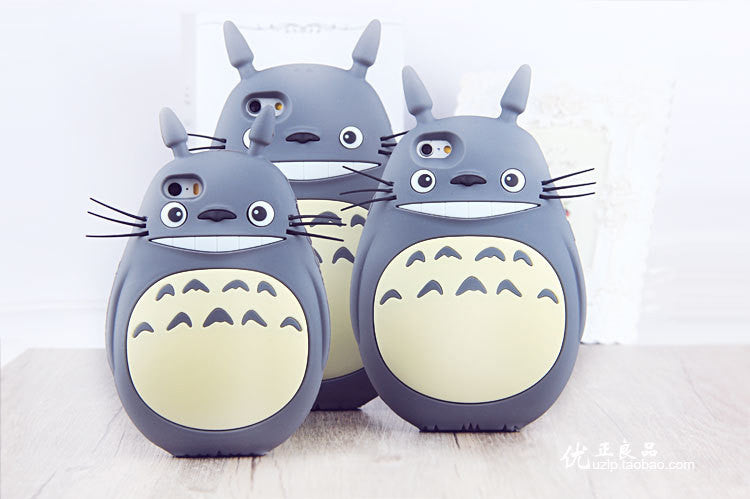Totoro Cat soft silicon cover for iPhone 4 4S