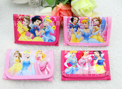 12 pcs Princess coin purse for kids as party or birthday favors