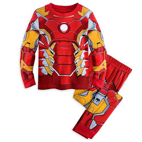 Ironman Comfortable Superhero Home Costume for Kids (2 to 10 years)