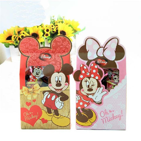20 pieces - Minnie/Mickey Mouse Candy Box Children Party Favor Box