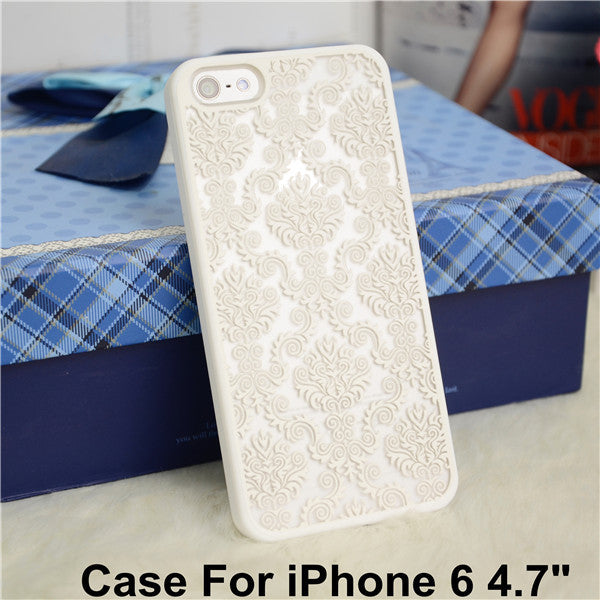 Rubberized Vintage Matte Hard Case Cover For iPhone 6