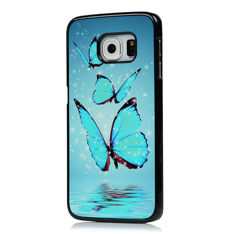 Ultra Thin Aluminum Protective Back cover for Samsung Galaxy S6 Edge
