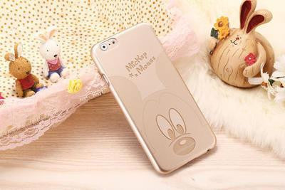 Luxury Mickey Mouse soft TPU cover for iPhone 6 4.7 inch