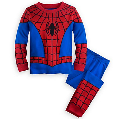 Spiderman Comfortable Superhero Home Costume for Kids (2 to 10 years)