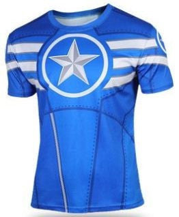 CLEARANCE: Captain America Blue t-shirt