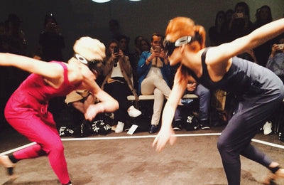 Creating with Charli Cohen at LFW