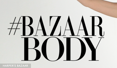 Harpers #BazaarBody workouts with Louisa