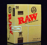RAW Classic Papers 50pk - Vape Mod Starter Kits  RAW Classic Papers 50pk - CBD Hemp Oil Kush Boutique  420 Head Shop KushBoutique.com