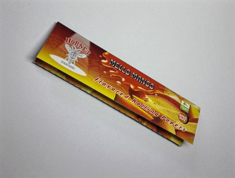 Hornet Mello Mango Flavoured Papers 25pk - Vape Mod Starter Kits  Hornet Mello Mango Flavoured Papers 25pk - CBD Hemp Oil Kush Boutique  420 Head Shop KushBoutique.com