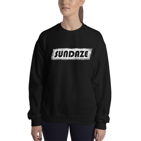 Womens SUNDAZE Black Sweatshirt