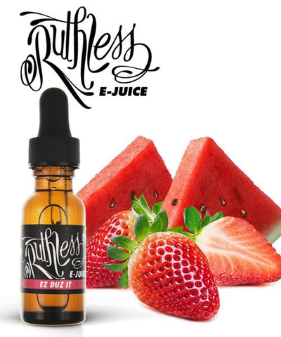 RUTHLESS EZ DUZ IT E-JUICE(60ML) - Vape Mod Starter Kits  RUTHLESS EZ DUZ IT E-JUICE(60ML) - CBD Hemp Oil Kush Boutique  420 Head Shop KushBoutique.com