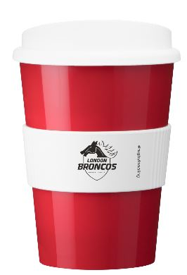 London Broncos re-usable Mugs