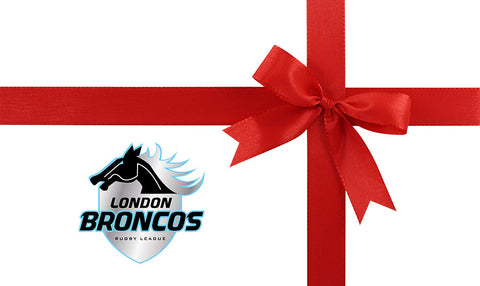 London Broncos Gift E-Card