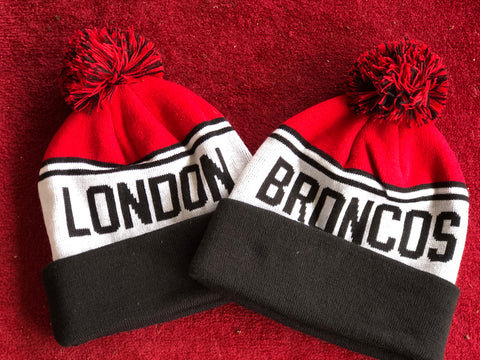 2020 London Broncos Bobble Hat