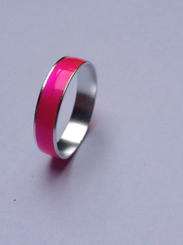 BRIGHT COLOUR STEEL RING
