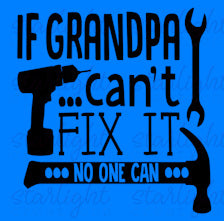 1071 -  Grandpa Fix it (11x12)