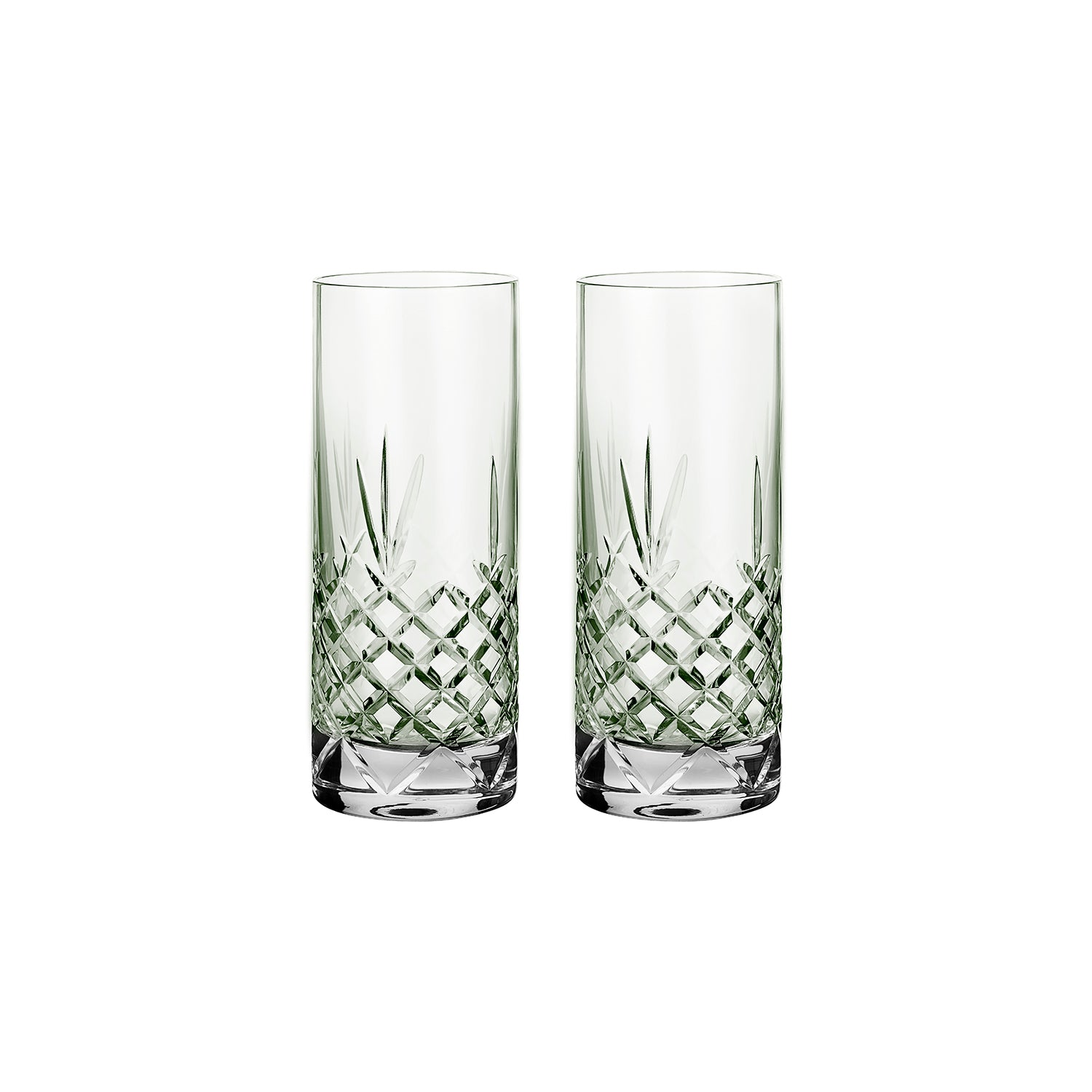 Crispy Highball Emerald // Green - 2 Pieces