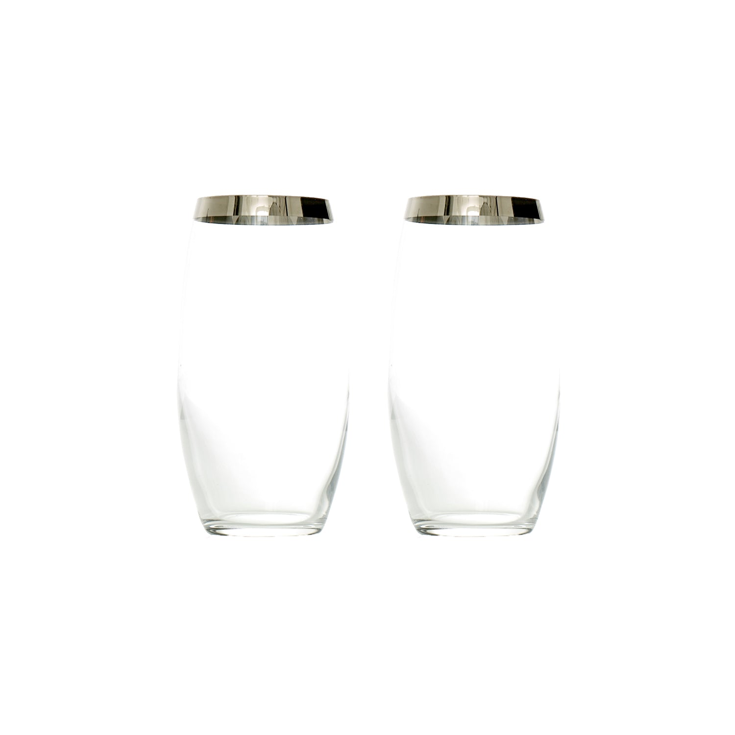 Platin Highball - 2 Pieces