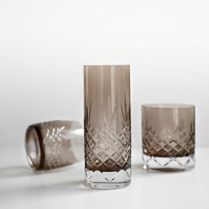 Crispy Highball Copal // Brown - 2 Pieces
