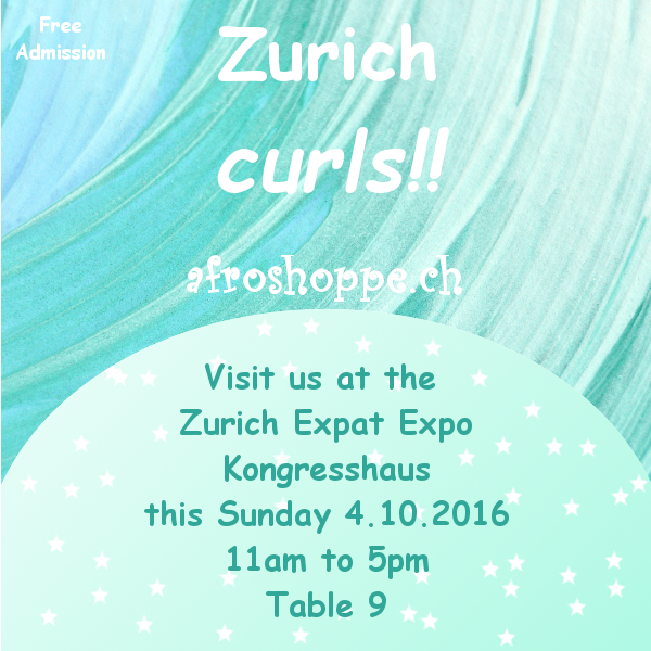 Visit Afroshoppe.ch @ Zurich Expat Expo this weekend!!